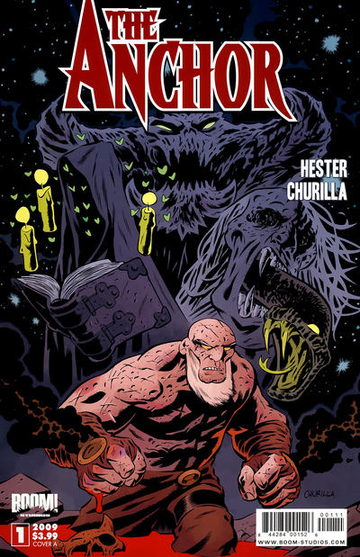 Cover for The Anchor (Boom! Studios, 2009 series) #1
