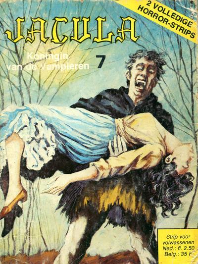 Cover for Jacula (De Vrijbuiter; De Schorpioen, 1973 series) #7