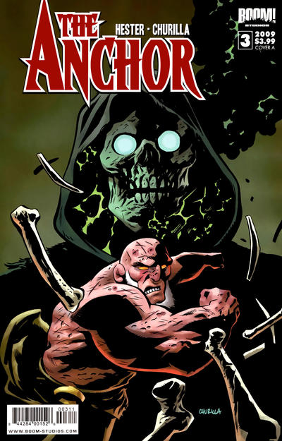 Cover for The Anchor (Boom! Studios, 2009 series) #3