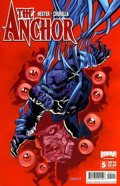 Cover for The Anchor (Boom! Studios, 2009 series) #5 [Cover A]