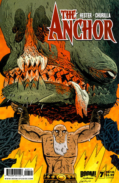 Cover for The Anchor (Boom! Studios, 2009 series) #7