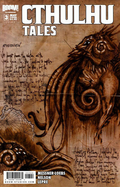 Cover for Cthulhu Tales (Boom! Studios, 2008 series) #3