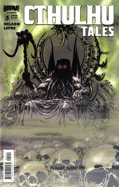 Cover for Cthulhu Tales (Boom! Studios, 2008 series) #5 [Cover A]