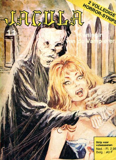 Cover for Jacula (De Vrijbuiter; De Schorpioen, 1973 series) #11