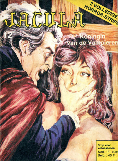 Cover for Jacula (De Vrijbuiter; De Schorpioen, 1973 series) #12