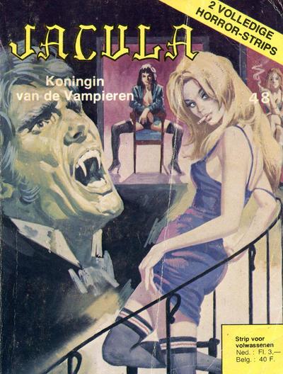 Cover for Jacula (De Vrijbuiter; De Schorpioen, 1973 series) #48