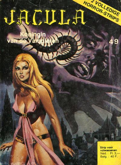 Cover for Jacula (De Vrijbuiter; De Schorpioen, 1973 series) #49