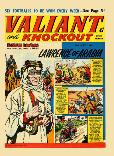 Cover for Valiant and Knockout (IPC, 1963 series) #18 May 1963