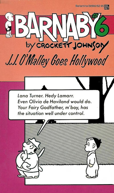 Cover for Barnaby (Ballantine Books, 1985 series) #6 - J. J. O'Malley Goes Hollywood