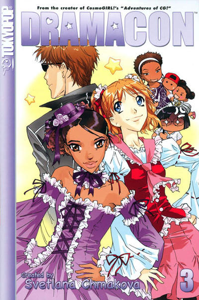 Cover for Dramacon (Tokyopop, 2005 series) #3