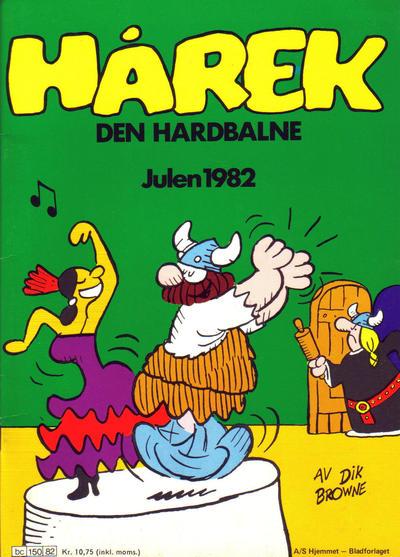 Cover for Hårek julehefte (Hjemmet / Egmont, 1981 series) #1982