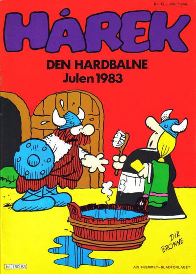Cover for Hårek julehefte (Hjemmet / Egmont, 1981 series) #1983