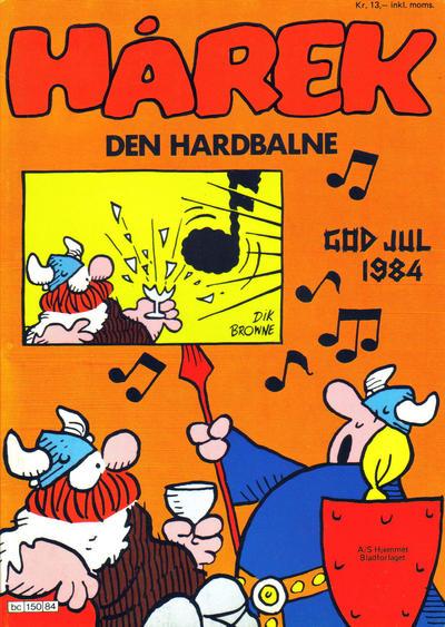 Cover for Hårek julehefte (Hjemmet / Egmont, 1981 series) #1984