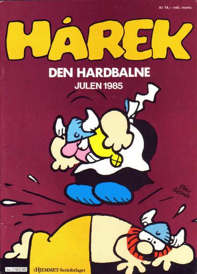 Cover for Hårek julehefte (Hjemmet / Egmont, 1981 series) #1985