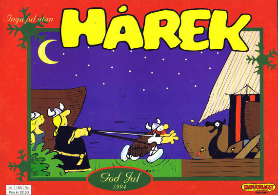 Cover for Hårek julehefte (Hjemmet / Egmont, 1981 series) #1994