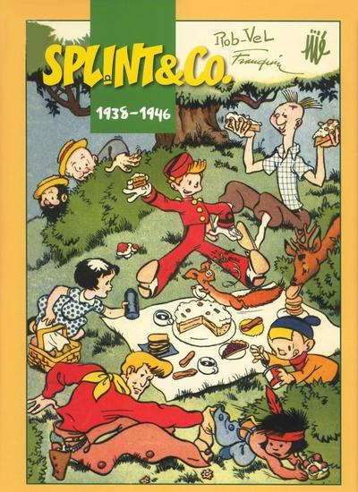 Cover for Splint & Co. (Egmont, 2008 series) #1