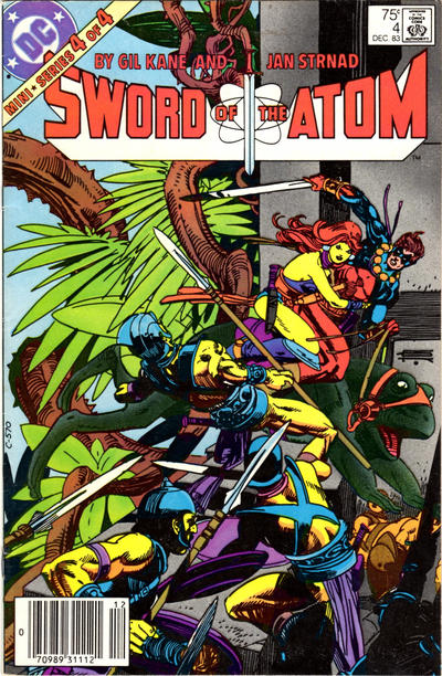 Cover for Sword of the Atom (DC, 1983 series) #4 [Newsstand]