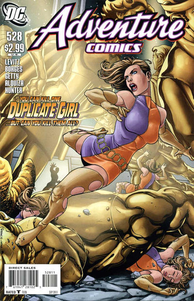 Cover for Adventure Comics (DC, 2009 series) #528