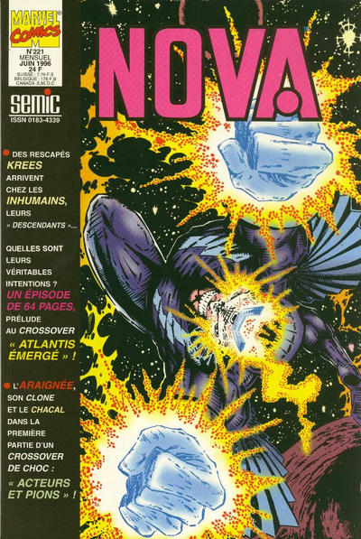 Cover for Nova (Semic S.A., 1989 series) #221
