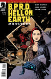 Cover for B.P.R.D. Hell on Earth: Monsters (Dark Horse, 2011 series) #1 [80] [Sook cover]