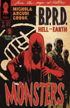 Cover for B.P.R.D. Hell on Earth: Monsters (Dark Horse, 2011 series) #1 [Francesco Francavilla Cover]