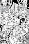Cover Thumbnail for 1001 Arabian Nights: The Adventures of Sinbad (2008 series) #2 [Black and White Variant - Sean Shaw]
