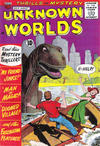 Cover for Unknown Worlds (American Comics Group, 1960 series) #9