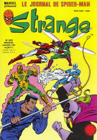 Cover Thumbnail for Strange (Semic S.A., 1989 series) #229