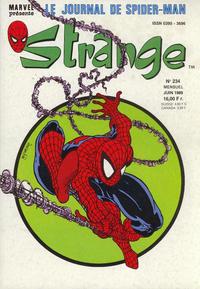 Cover Thumbnail for Strange (Semic S.A., 1989 series) #234