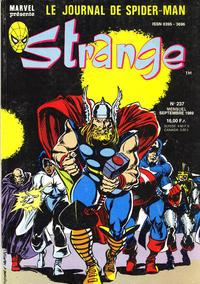 Cover Thumbnail for Strange (Semic S.A., 1989 series) #237