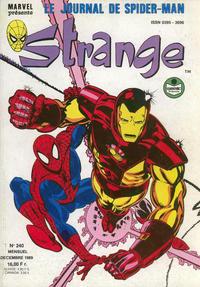 Cover Thumbnail for Strange (Semic S.A., 1989 series) #240
