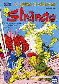 Cover Thumbnail for Strange (Semic S.A., 1989 series) #241