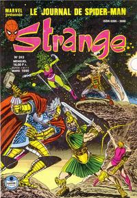 Cover Thumbnail for Strange (Semic S.A., 1989 series) #243