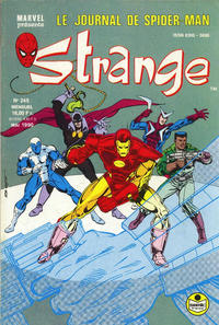 Cover Thumbnail for Strange (Semic S.A., 1989 series) #245