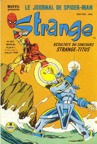 Cover Thumbnail for Strange (Semic S.A., 1989 series) #247