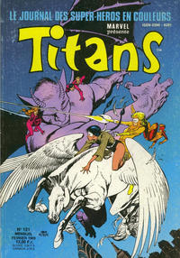 Cover Thumbnail for Titans (Semic S.A., 1989 series) #121