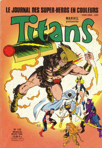 Cover Thumbnail for Titans (Semic S.A., 1989 series) #122