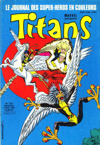 Cover Thumbnail for Titans (Semic S.A., 1989 series) #123