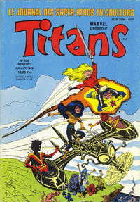 Cover Thumbnail for Titans (Semic S.A., 1989 series) #126