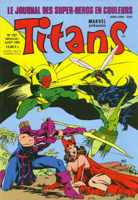 Cover Thumbnail for Titans (Semic S.A., 1989 series) #127