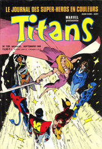 Cover Thumbnail for Titans (Semic S.A., 1989 series) #128