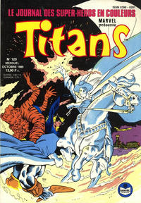 Cover Thumbnail for Titans (Semic S.A., 1989 series) #129