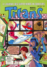 Cover Thumbnail for Titans (Semic S.A., 1989 series) #131