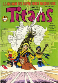 Cover Thumbnail for Titans (Semic S.A., 1989 series) #133