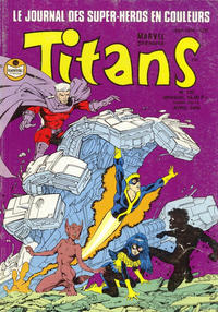 Cover Thumbnail for Titans (Semic S.A., 1989 series) #135