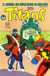 Cover Thumbnail for Titans (Semic S.A., 1989 series) #136