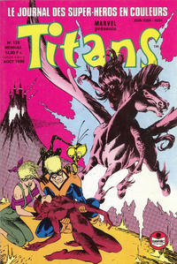 Cover Thumbnail for Titans (Semic S.A., 1989 series) #139
