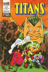 Cover Thumbnail for Titans (Semic S.A., 1989 series) #140