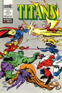 Cover Thumbnail for Titans (Semic S.A., 1989 series) #141