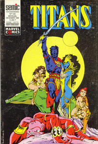Cover Thumbnail for Titans (Semic S.A., 1989 series) #143